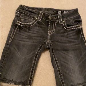 Cut offs denim shorts
